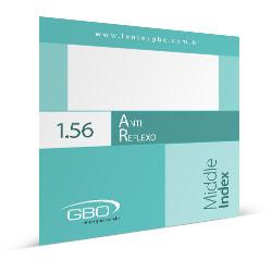 Lente Anti-reflexo GBO ORGANIC 1.56