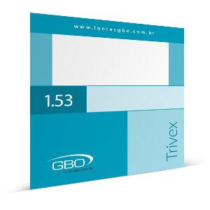 Lente Anti-reflexo GBO TRIVEX 1.53