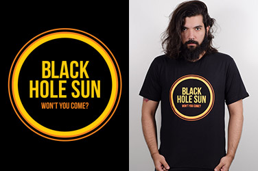 Camiseta Soundgarden - Black Hole Sun
