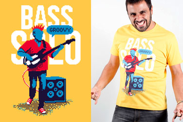 Camiseta Bass Solo
