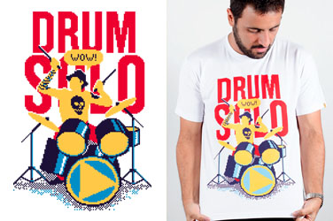 Camiseta Drum Solo
