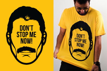 Camiseta Queen - Don't stop me