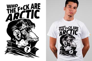 Camiseta Arctic Monkeys - Who The Fuck