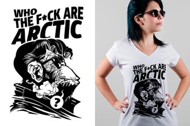 Camiseta Arctic Monkeys - Who The Fuck - Gola V