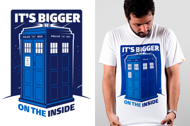 Camiseta Doctor Who - Tardis