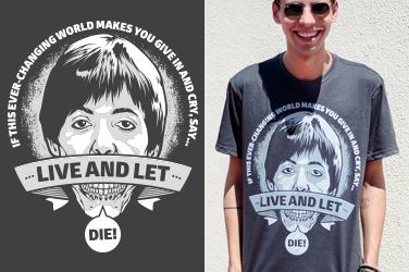 Camiseta Paul McCartney - Let Die