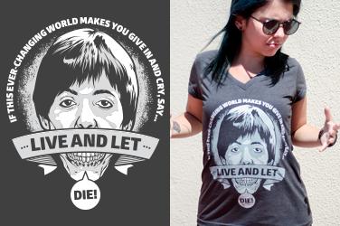 Camiseta Paul McCartney - Let Die - Gola V