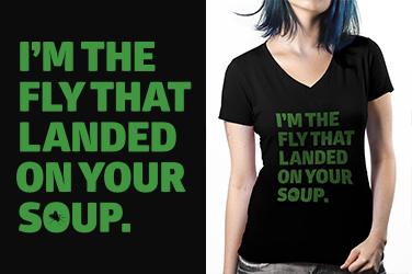 Camiseta I'm The Fly - Gola V
