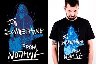 Camiseta  Foo Fighters - Something